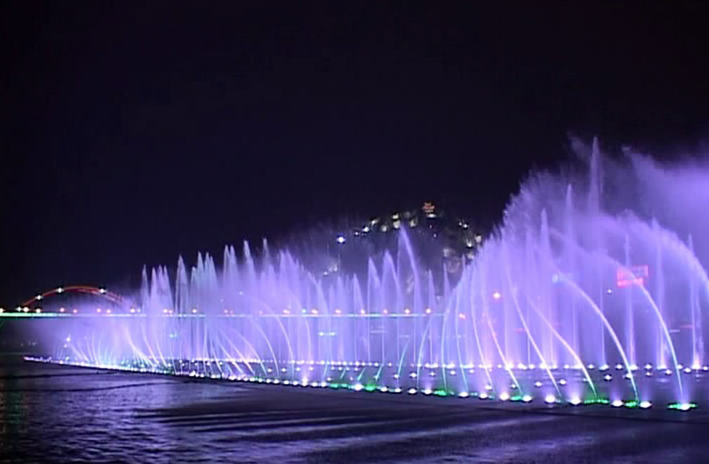 Do not miss the music dancing fountain in the city
